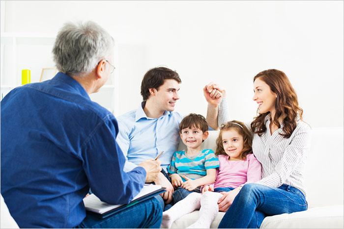 4 консультации психолога:  детского, подросткового, семейного